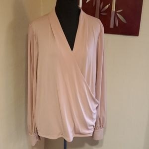 Adrianna Papell Blush Blouse